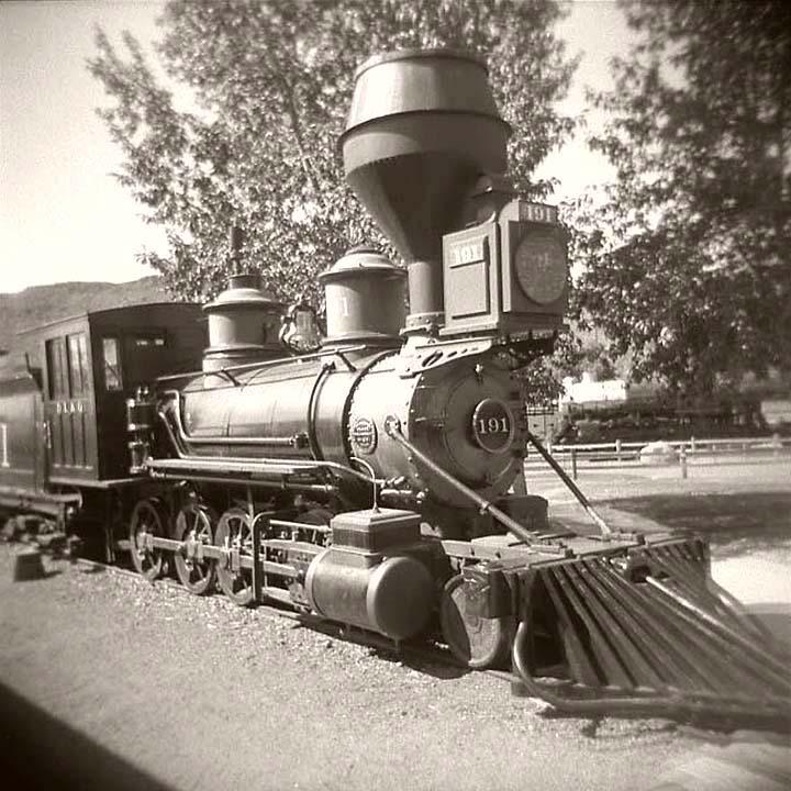 Steam Railfanning with the Amazing Holga